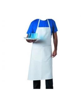 Tablier de cuisine valet blanc