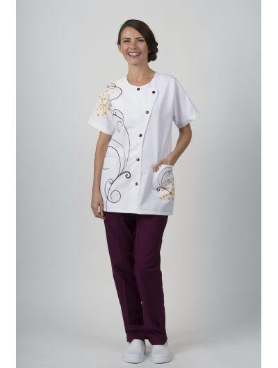 Pantalon Mixte Blanc ZATOL