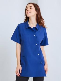 Pantalon coupe ajustée Femme SAVIA bleu marine